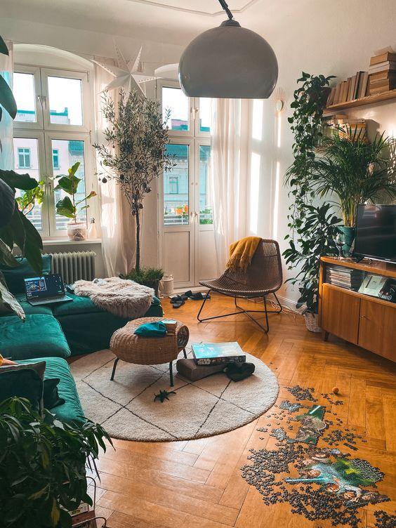 Apartment with a beautiful, balanced design